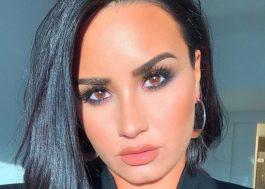 "Demi Lovato confirma que vai cantar ""Anyone"", sua nova música, durante o Grammy"