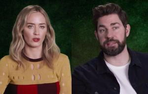 """Emily Blunt e John Krasinski falam sobre """"Um Lugar Silencioso – Parte II"""" em vídeo de bastidores"""