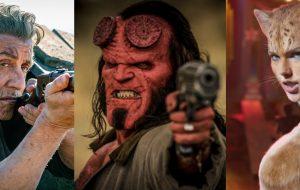 """""""Rambo: Até o Fim"""", """"Hellboy"""" e """"Cats"""" são os mais indicados ao Framboesa de Ouro 2020"""