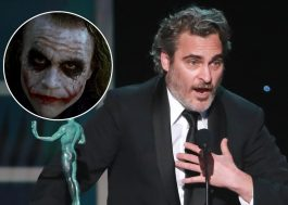 "No SAG Awards, Joaquin Phoenix enaltece Heath Ledger ao vencer prêmio por ""Coringa"""