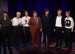 BTS brinca de esconde-esconde com Ashton Kutcher e James Corden em programa de TV