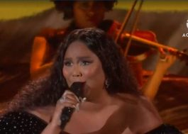 "Poderosa! Lizzo abre o Grammy com medley de ""Cuz I Love You"" e ""Truth Hurts"""