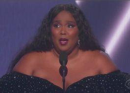 Grammy 2020: Lizzo ganha seu terceiro prêmio (até agora!)