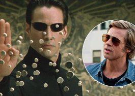 """Brad Pitt diz que recusou proposta para atuar em """"Matrix"""""""