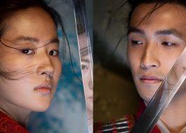 """Elenco está poderoso nos novos cartazes do live-action de """"Mulan"""""""