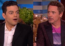 Rami Malek revela que pensou estar recebendo e-mails de um fake de Robert Downey Jr.