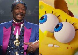 """Snoop Dogg surge em nova prévia de """"Bob Esponja: O Incrível Resgate"""""""