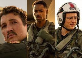 """Novos pilotos são apresentados em imagens inéditas de """"Top Gun: Maverick"""""""