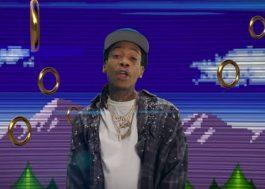 """Wiz Khalifa lança clipe para """"Speed Me Up"""", música tema de """"Sonic: O Filme"""""""
