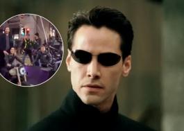 """Novos vídeos das filmagens de """"Matrix 4"""" mostram cenas com explosões, moto e helicóptero"""