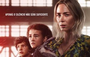 """""""Um Lugar Silencioso – Parte II"""", filme estrelado por Emily Blunt, ganha novo pôster!"""