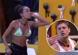 """BBB20: Thelma briga com Lucas: """"Você é um macho escroto!"""""""