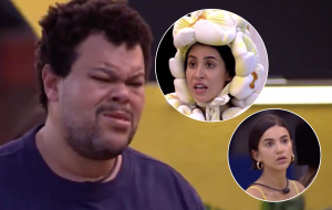 Babu discute com Bianca Andrade e Manu Gavassi por divisão de comida no BBB20