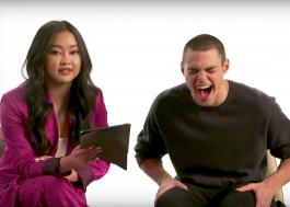 Lana Condor e Noah Centineo leem tweets em português em vídeo da Netflix