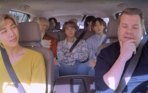 James Corden libera teaser de Carpool Karaoke com BTS