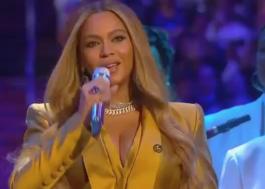 """Beyoncé canta """"XO"""" durante cerimônia em homenagem a Kobe e Gianna Bryant"""