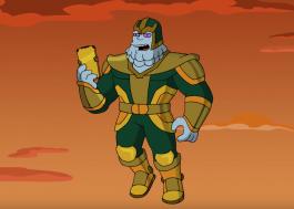 """Kevin Feige dubla versão de Thanos em novo episódio de """"Os Simpsons"""""""