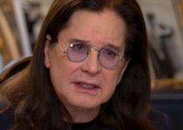 Ozzy Osbourne cancela turnê para tratar doença de Parkinson