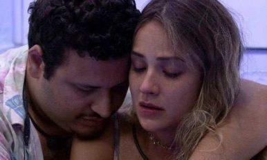 Victor e Gabi choram por ciúmes de Guilherme