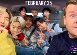 James Corden anuncia Carpool Karaoke com BTS