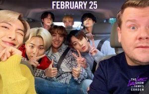 James Corden anuncia Carpool Karaoke com BTS