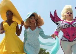 "Bob the Drag Queen, Shangela e Eureka viajam pelos EUA no teaser da série ""We're Here"""