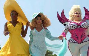 """Bob the Drag Queen, Shangela e Eureka viajam pelos EUA no teaser da série """"We're Here"""""""