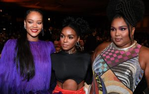 Rihanna, Janelle Monaé e Lizzo se encontram no NAACP Image Awards <3