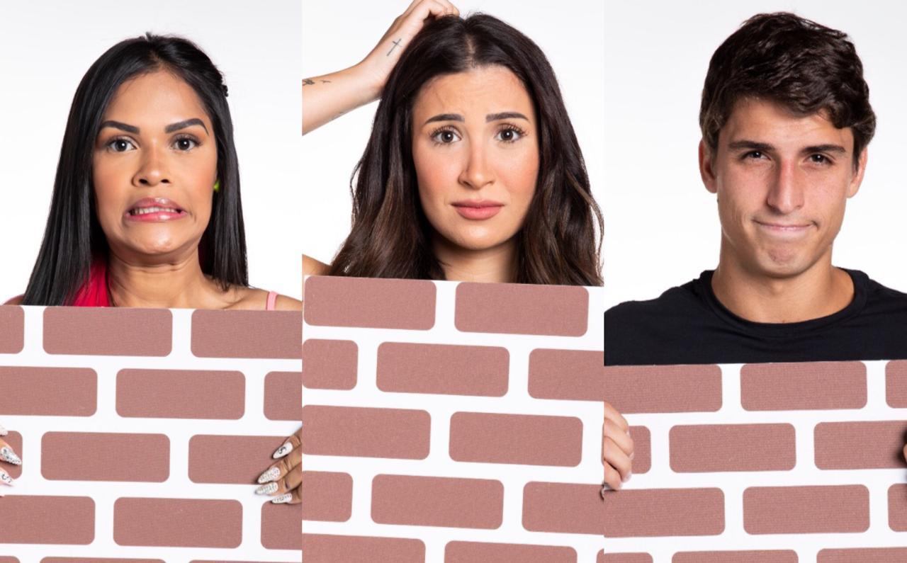 BBB20: Flayslane, Bianca e Felipe estão no paredão da semana