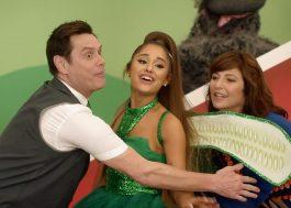 """Ariana Grande se veste de fada e canta com Jim Carrey em novo episódio de """"Kidding"""""""