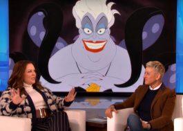 """Melissa McCarthy confirma que será Úrsula no live-action de """"A Pequena Sereia""""!"""