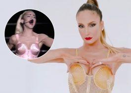 """Claudia Leitte se fantasia de Madonna e canta """"Like a Prayer"""" em bloco de Carnaval"""