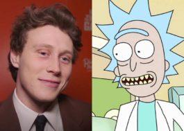 """George MacKay diz que gostaria de interpretar Rick em live-action de """"Rick and Morty"""""""