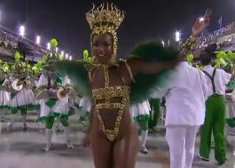 Iza estreia como rainha de bateria da Imperatriz Leopoldinense; confira!