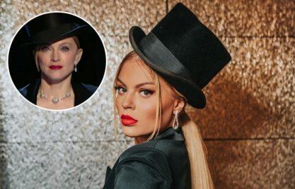Luísa Sonza de Madonna em bloco