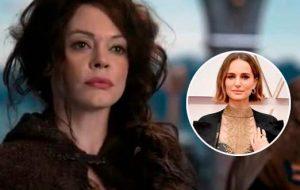 "Rose McGowan critica protesto de Natalie Portman no Oscar: ""Finge que se importa"""