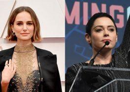 """Natalie Portman responde crítica de Rose McGowan: """"Tentei e continuarei tentando"""""""