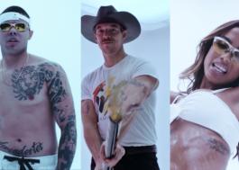 """MC Lan, Major Lazer e Anitta fazem uma festa em estúdio no clipe de """"Rave De Favela"""""""