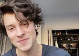 """Shawn Mendes explica seu sumiço do Instagram: """"Estou fazendo outro álbum"""""""