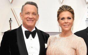 Tom Hanks e a esposa, Rita Wilson, são diagnosticados com coronavírus