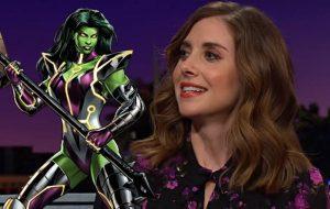 """Após campanha dos fãs, Alison Brie fica interessada em interpretar """"She-Hulk"""""""