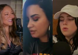 Mariah Carey, Demi Lovato e mais cantam de suas casas em especial de TV sobre o coronavírus