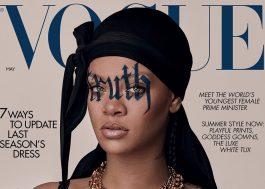 """Rihanna fala sobre o racismo, maternidade e R9: """"Trabalhando agressivamente na música"""""""