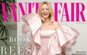 Reese Witherspoon fala sobre sua paixão por literatura e direitos iguais para a Vanity Fair