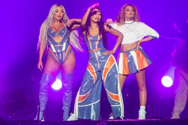 Festival GRLS marcou a primeira vez do Little Mix no Brasil