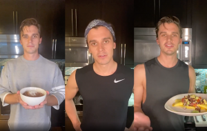 "Antoni Porowski, do ""Queer Eye"", ensina receitas no Instagram durante quarentena"