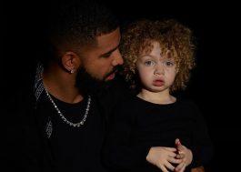 Drake mostra fotos de seu filho, Adonis, pela 1ª vez