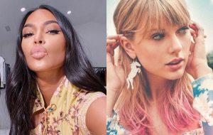 Kim Kardashian comenta vazamento de ligação polêmica entre Kanye West e Taylor Swift