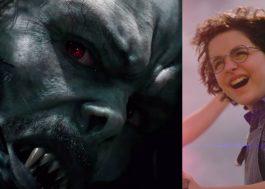 "Sony adia ""Morbius"", ""Ghostbusters"" e mais"