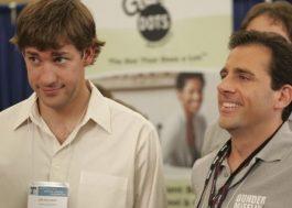 """John Krasinski se junta a Steve Carell em comemoração aos 15 anos de """"The Office"""""""
